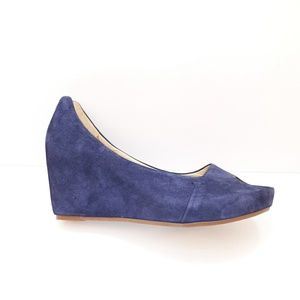 Johnston & Murphy Suede Wedges